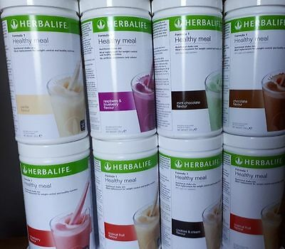Herbalife Nutritional Shake 550grams. 2 TUBES OF ANY FLAVOURS! FREE DELIVERY!!!