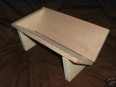 Punching piercing sewing cradle sturdy plywood bookbinding book sewing hole 2654