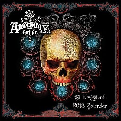 Alchemy - Gothic Art - 2018 Wall Calendar - Brand New - 885006