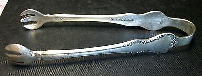"French Provincial by Towle Sterling Silver 4"" Sugar Tongs No Monograms Flatwar"