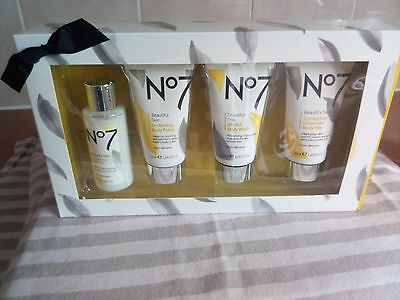 No 7 Beautiful Skin - Pampering Mini Collection - New