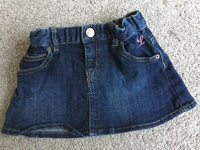 H&M Denim Skirt 6-9 Months