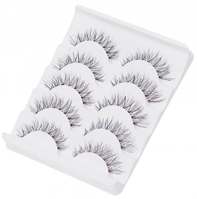 Fake Eyelashes Multipack, 3D Fashion Natural Look Faux cils Extension pour maqui