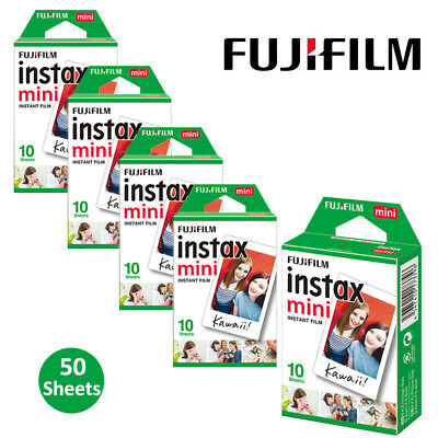 Fujifilm Instax Mini Film Instant 50 Pictures - Fuji 8 9 11 25 50 90 Camera SP-2