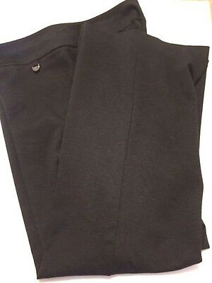 New York and Company Women Gray Pull On Dress Pants  Size X:L  Tall