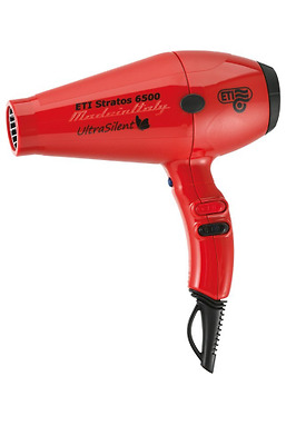 ETI Stratos 6500 Ultra Silent Sèche-cheveux 2200 W Rouge