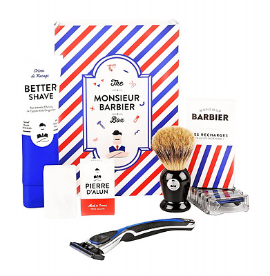 Monsieur Barbier : Coffret de rasage - Old School