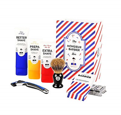 Monsieur Barbier : Coffret de rasage - Super Daddy