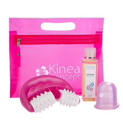 Kit Ventouse Anti Cellulite - Set amincissant - Ventouse Cellulite+Roller+Huile