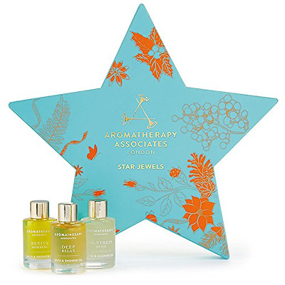 AROMATHERAPY ASSOCIATES Coffret Huiles Bain & Douche Star Jewels : Deep Relax, D