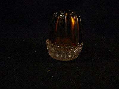 Clarke Fairy Lamp Amber with Clear Base