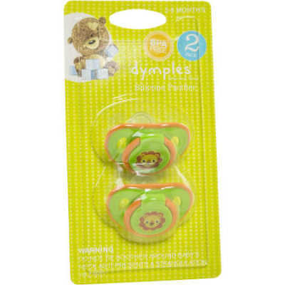 NEW Dymples Bloom Soothers - 2 Pack