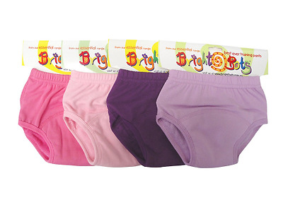 Bright Bots Washable Potty Training Pants Culotte d'apprentissage 4pk Large with