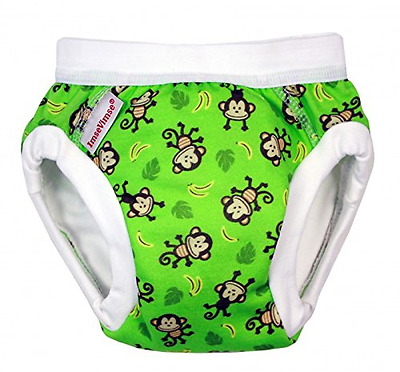 ImseVimse Culotte d'apprentissage Trainer couches Pantalons Green Monkey SL (Sup