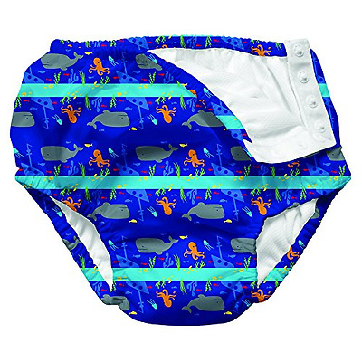 Iplay Mix and Match Ultimate Swim Diper Royal Shipwreck Size M (0 12 Mois) Sun P