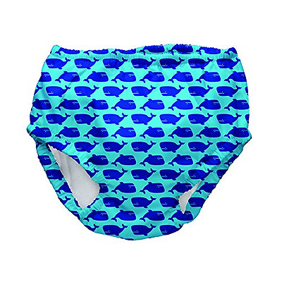 Iplay Mix and Match Ultimate Swim Diper Aqua Geo Whale Size L (12 18 Mois) Sun P