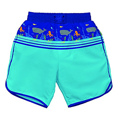 Iplay Mix and Match Ultimate Panel Board Shorts Royal Shipwreck Size L (12 18 Mo