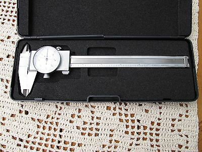 "6x1/64"" Stainless Steel Fractional Dial Caliper in Fitted Case"