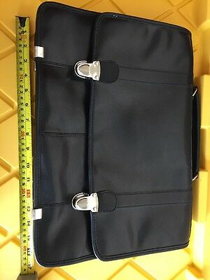 WILSONS LEATHER Black Leather ShouldeR Tote Satchel Cross Body Bag