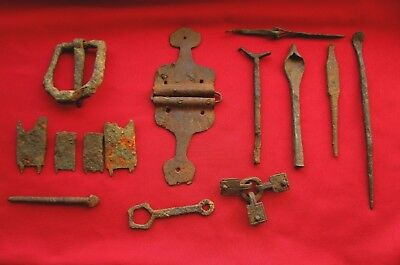 >> ROMAN military,legionary,cavalry EQUIPMENT - discovered together << RARE