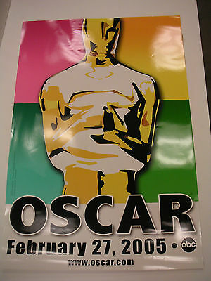 Two Huge 2005 Oscars And The Incredibles Movie Advertising Posters