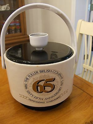 Fuller Brush Ice Bucket 65th Anniversary 1906 - 1971 Company Advertisement Vinyl
