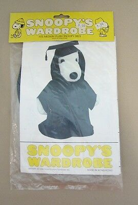 Vintage Snoopy Wardrobe Graduation Outfit Sealed In Package