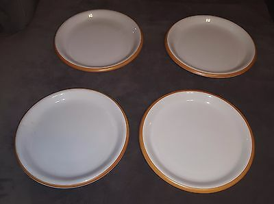 Set of 4 Crown Corning Dinner Plates Made in Japan BRK9997.