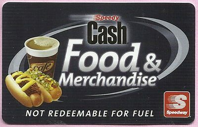 Speedway Gas Fuel Collectible No Value Gift Card #3 - Buy 6 Ship FREE