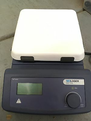 scilogex MS7 Pro hot plate digital LCD stirrer used