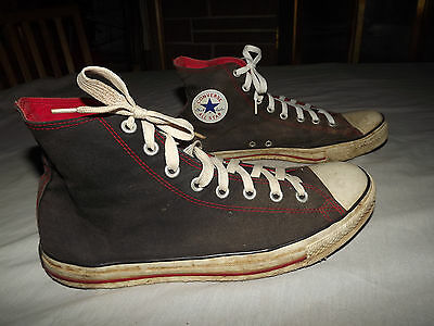 Converse Chuck Taylor All Star High Top Size 12 Black / White
