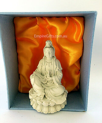 Quan Yin (Kwan Yin) Feng Shui Statue Goddess of Mercy and Compassion