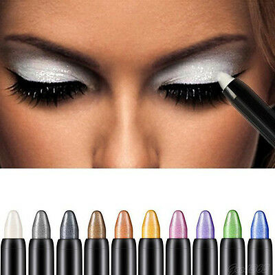 1 PC Beautiful Highlighter Make up Waterproof Eyeshadow Pencil For Women Lady