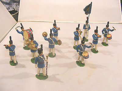 Vintage Timpo American West Point Solider Band