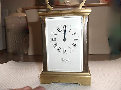 Autigue Harrods Carriage Clock