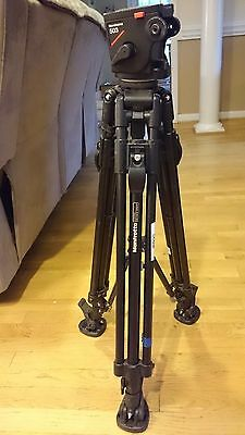 """Manfrotto 351MVB2 Tripod with 503 Head 46"""" Tall when extended"""