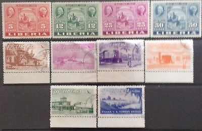 Liberia 1947 Stamp Exhibtion MNH & 1953 Airmail issues Used
