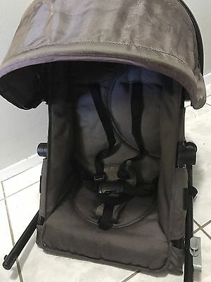 Second seat Frame for Steelcraft Strider Plus pram - no fabric