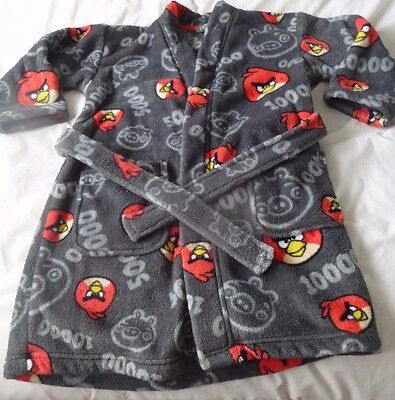 Boys Angry Birds Dressing Gown Age 5-6 Years from Marks and Spencer