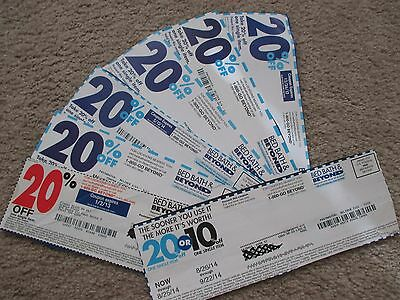Seven (7) Bed Bath and Beyond coupons