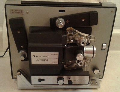 Bell & Howell Autoload Motion Picture Projector 462A WORKS!  EXTRA BULB!