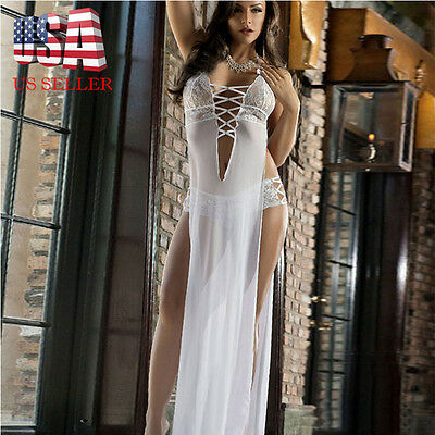 ladies dress transparent lingerie underwear