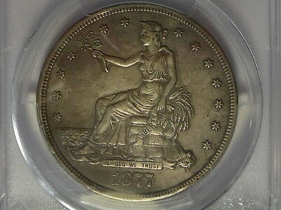 1877-S Trade Silver Dollar - PCGS XF Details - Genuine