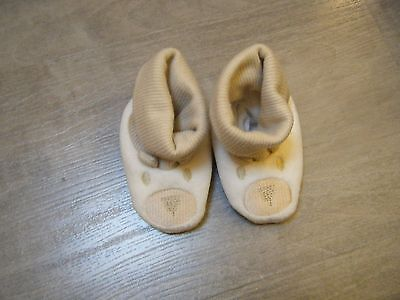 Chaussons motifs ours - Naissance/1 mois - NEUF