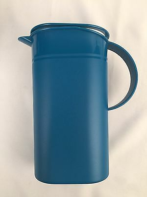 Rare Tupperware Vintage 90s Slim Retro Style Large Green Jug/Pitcher w/ Lid New