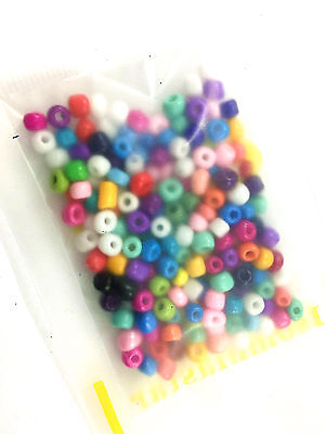 Mixed color 200 pcs 4mm Loose Charm Glass Crystal beads Pick Colors v156