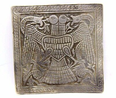 The Vikings Silver Tablet With Birds and Snakes 800-1000 AD