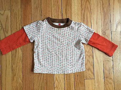 Tea Collection Boys/girls 18-24 Months EUC layer Top