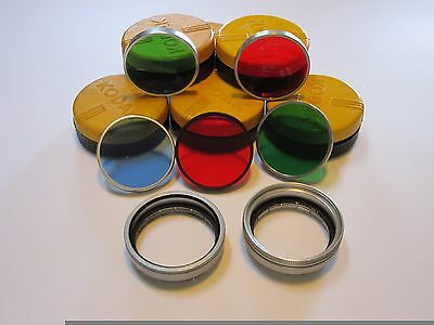 Kodak Series 6 Adapter Rings and Series VI (Series 6) FIlters