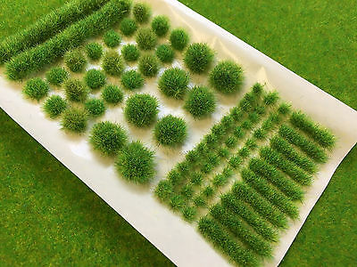 Spring BIG True Tufts mixed - Model Scenery Static Grass Natural Railway Wild